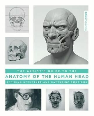 NEW The Artist's Guide to the Anatomy of the Human Head By 3DTotal Publishing