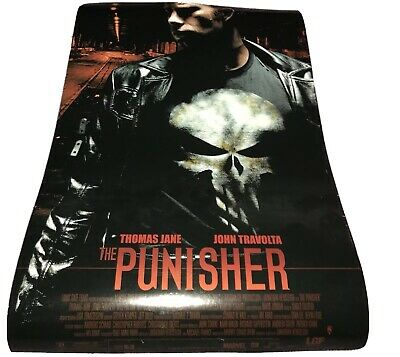 PUNISHER - 2004 Lot Of 3 Mini Movie Posters JOHN TRAVOLTA Giveaways Marvel Rare