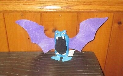 1999 Burger King Kids Meal Toy Pokemon Movie GOLBAT Plush MINT NEW UNUSED