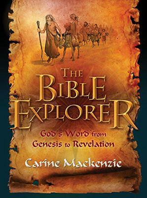 The Bible Explorer by Mackenzie, Carine, NEW Book, (Paperback) FREE & Fast Deliv