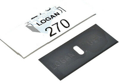 Genuine Logan 270 Mat Mount Cutter Blades Mountcutter Picture Frames Mounting