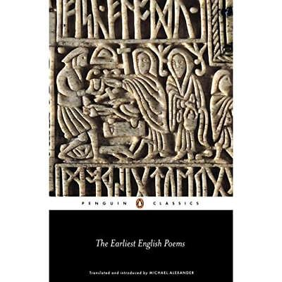 The Earliest English Poems (Penguin Classics) - Paperback NEW Alexander, Mich 20