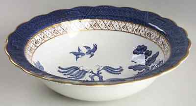 """Booths REAL OLD WILLOW BLUE 9"""" Round Vegetable Bowl 1903367"""