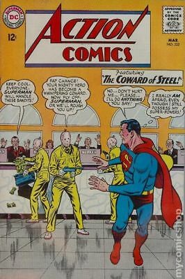 Action Comics (DC) #322 1965 GD/VG 3.0 Stock Image Low Grade