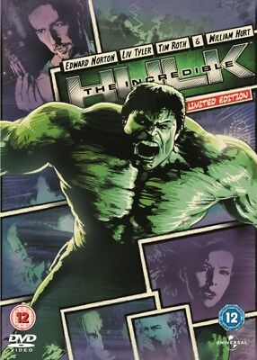 The Incredible Hulk - Limited Edition DVD NEW dvd (8285812)