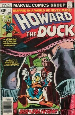 Howard the Duck (1st Series) #11 1977 FN Stock Image