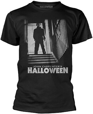 HALLOWEEN Michael Myers Stairs T-SHIRT OFFICIAL MERCHANDISE