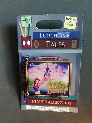Disney's Beauty And The Beast Lunch Time Tales Pin LE 1,500