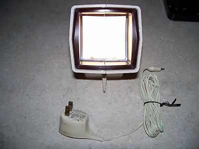 Vintage Sawyer's Pana-vue R 2x2 Slide Viewer with Cord - Works - Used/GC