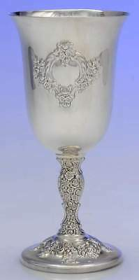 International DU BARRY CHASED SILVERPLATE (WEBSTER WILCOX) Water Goblet 9996494