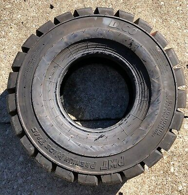x1 New Dico 6.50-10NHS Forklift Tire PWT Premium Wide Trac Free Shipping