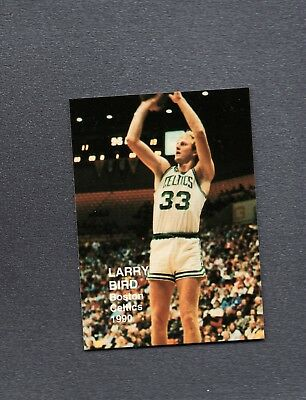 1990 NBA Superstars Larry Bird Boston Celtics Shooting HT 14831