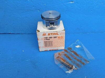 Stihl Chainsaw Ms270 Ms280 Piston And Rings New Oem # 1133 030 2001  ( 46 Mm )