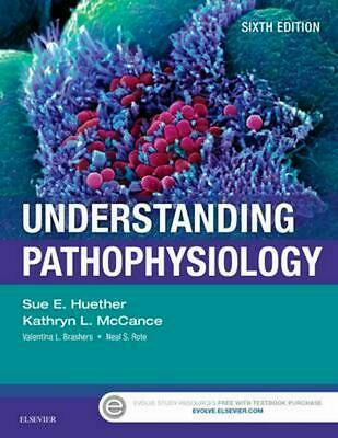 Understanding Pathophysiology 6th Edition by Sue E. Huether (English) Paperback
