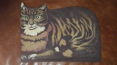 Vtg Sari Cat Toaster Appliance Cover • Made in England • Estate Find