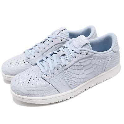 53223898767394 Nike Air Jordan 1 Retro Low NS No Swoosh Ice Blue Sail Men Shoes 872782-