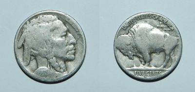 U.s.a.  1925 D Buffalo Nickel
