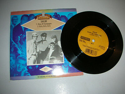 Sailor - Glass Of Champagne / Girls Girls Girls...in Picture Sleeve