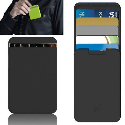 Zenlet Anti-side Credit Card Package Wallet Action Wallet Push-pull Card Holder