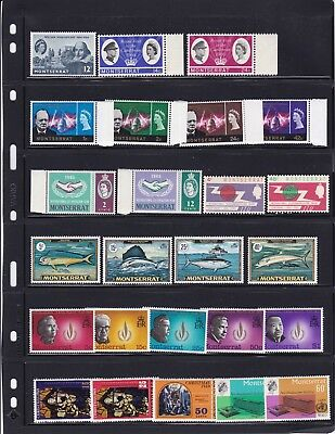 Montserrat Mint Stamps in Sets from 1960s's MNH(2 pictures)