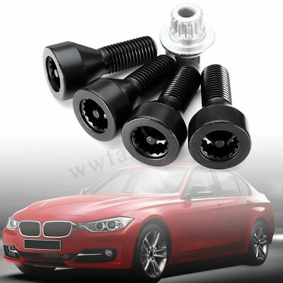 New Locking Wheel Bolts Nuts 36136786419 For BMW 1 3 5 6 Series E46 E60 E61 E87