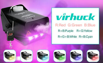 Virhuck 500-Watt Portable Christmas and Party Fog Machine for Holidays, Weddings