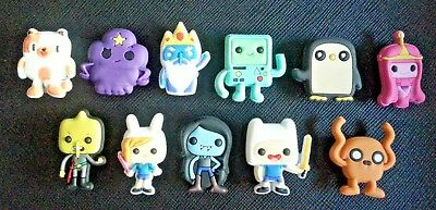 11 ADVENTURE TIME WITH FINN AND JAKE Croc Shoe Charms Crocs Jibbitz Wristbands