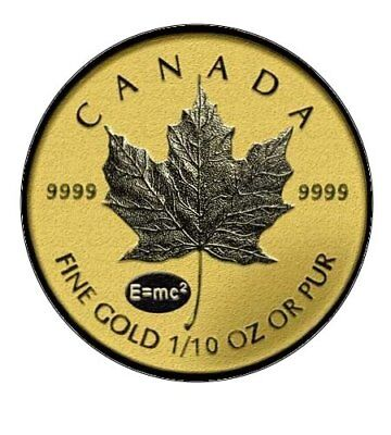 ++ Maple Leaf Privy Einstein 2015 - 1/10oz Gold  ++