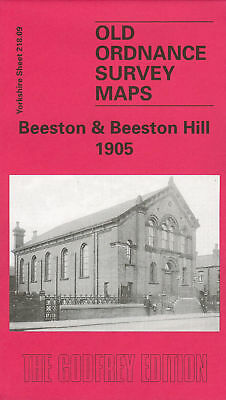 Old Ordnance Survey Map Beeston & Beeston Hill 1905