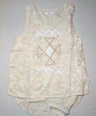 bce121a53c NEW VANS WOMENS Kenya Casual Split Back Tank Top Cami Small -  16.00 ...