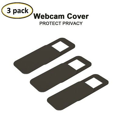 3PSC Webcam cover / Kameraabdeckung Laptop pc tablet sichtschutz 3in1 paket