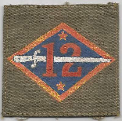 WW 1 US Army 12th Division Painted Patch Inv# 1258