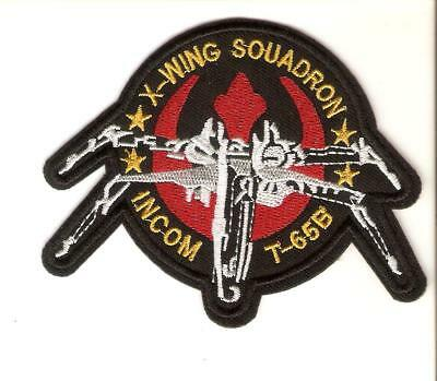 + STAR WARS Aufnäher/Patch X-Wing Squadron Incom T-65B