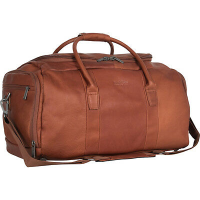 Kenneth Cole Reaction Duff Guy Colombian Leather Duffel Travel Duffel NEW