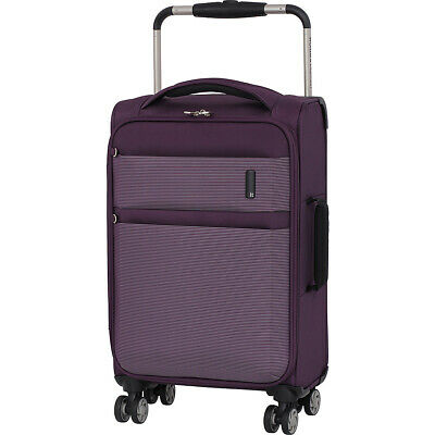 """it luggage World's Lightest Debonair 21.5"""" Carry-On Softside Carry-On NEW"""