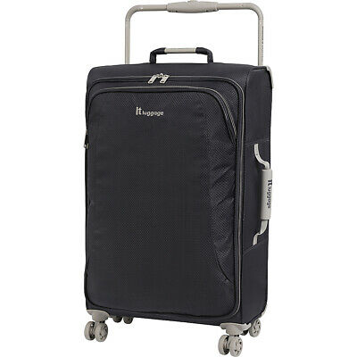 it luggage World's Lightest 8 Wheel Spinner 27.6 Softside Checked NEW