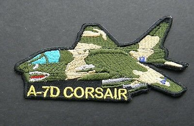 Corsair A-7D Fighter Aircraft Embroidered Patch 4 Inches