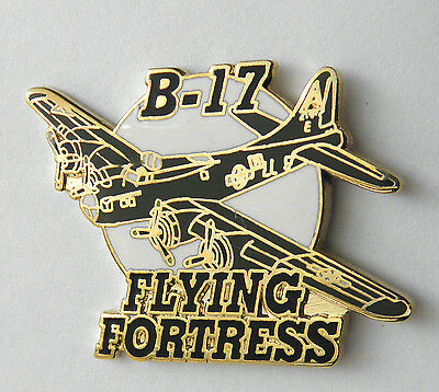 Flying Fortress B-17 Bomber Usaf Us Air Force Aircraft Lapel Pin Badge 1.25 Inch