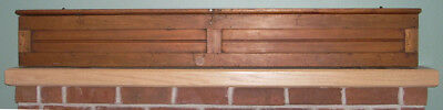 Antique Cherry Wooden Map Case Great for Maritime / Nautical Use