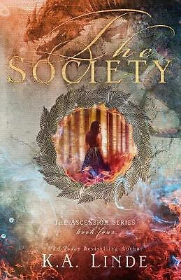 The Society by K.A. Linde Paperback Book Free Shipping!