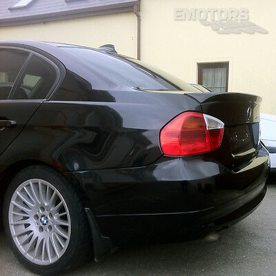 PAINTED For BMW E90 3-SERIES Saloon OE TYPE REAR TRUNK SPOILER WING 2011 ◢