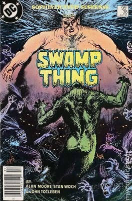Swamp Thing (2nd Series) Canadian Price Variant #38 1985 VG 4.0 Stock Image
