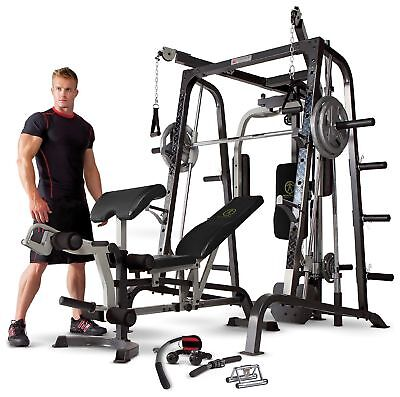 Marcy MD9010G Deluxe Smith Machine Home Multi Gym.