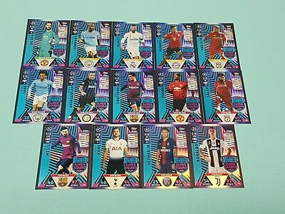Topps Match Attax Champions League 2018/2019 Limited Edition Super Squad wählen