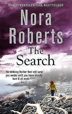 Roberts, Nora, The Search, Paperback, Very Good Book