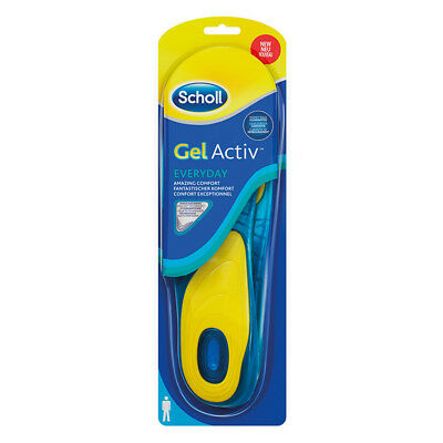 Scholl 2x Solette (1 paio) Gel Activ Everyday Uomo