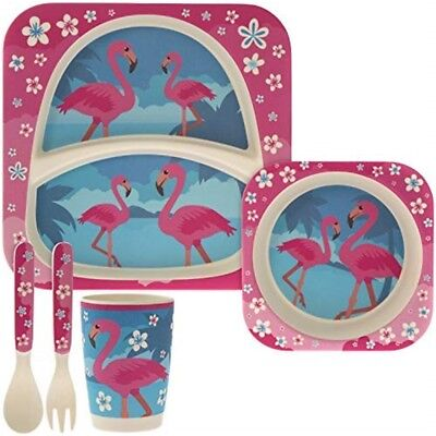 Flamingo Bamboo Eco 5pc Dinner Set