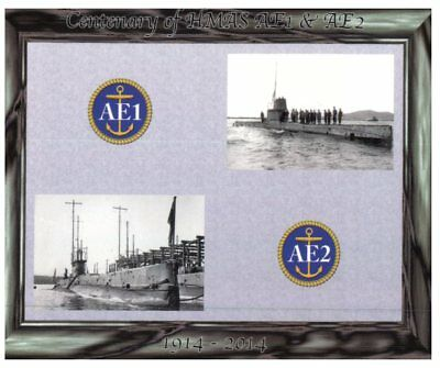 Postcard - Centenary of the loss of submarine AE1 & AE2 during WWI