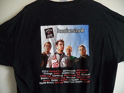 Hooberstank 2004 Tour Usa Concert Men's Extra Large Jim Beam Live Series T-Shirt