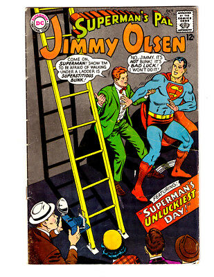 Superman's Pal JIMMY OLSEN #06 in FN- condition  a 1967 DC silver age comic